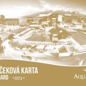 DARČEKOVÁ KARTA